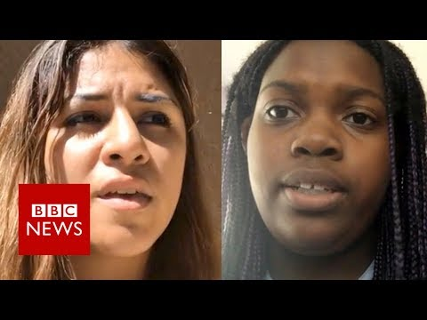 Florida shooting: 'We watched gunman kill our friends' - BBC News
