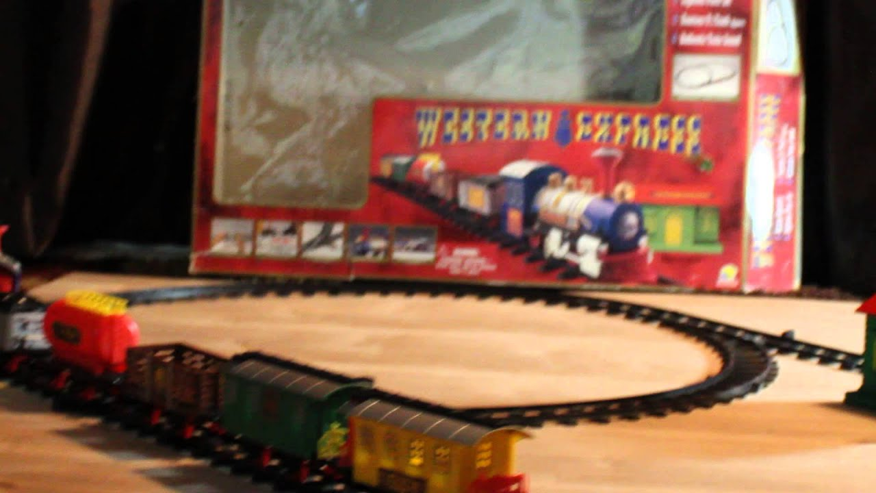 Battery Operated Western Express Train Set Youtube