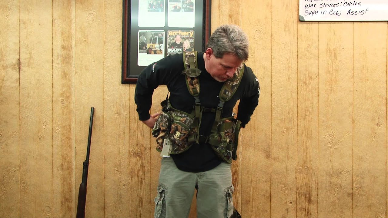 d6e4480fb937b Taylor's Archery & Outdoors Presents Knight Hands Free Hunting Vest ...