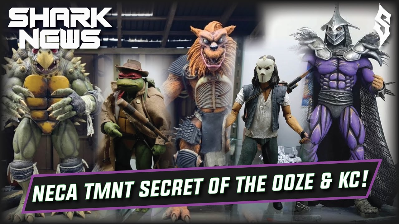 Neca Tmnt Secret Of The Ooze Tokka Rahzar Kc Jones Super