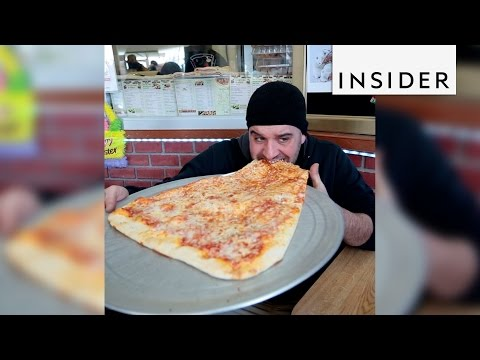You Can Buy A 2-foot-long Pizza Slice In NYC