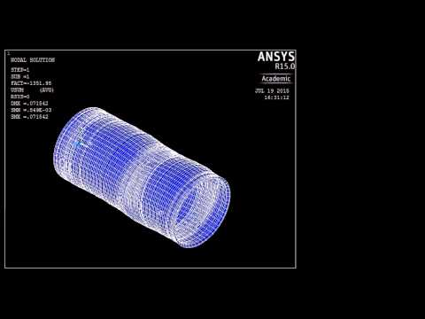 Nonlinear Buckling Analysis of Subsea Pipeline using FEM in ANSYS