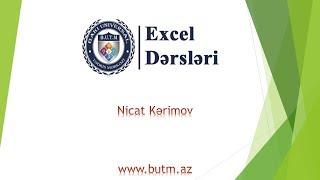 Excel dersi: VLookup (ВПР) +  #1ders