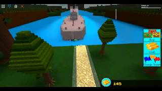 The USS Tennessee And HMS M33! | Build A Boat For Treasure | Roblox