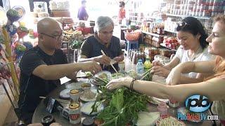Trải nghiệm đặc sản bánh tráng Trảng Bàng cuốn thịt với NAG Nick Út