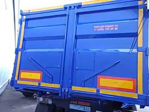 JM Kipper Samosval 38 Maxcar177 Moscow Polupricep Tral