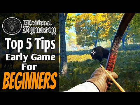Tips for Beginners   Lets Play Medieval Dynasty   Guide