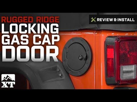 2007-2018 Jeep Wrangler Replacement Fuel Door New MOPAR OEM