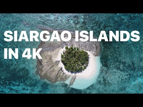 Siargao islands shot with Phantom 4 Pro in 4k