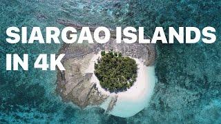 Siargao islands shot with Phantom 4 Pro in 4k