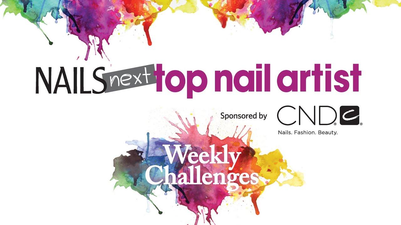 NAILS Next Top Nail Artist: Season 2 Nail Art Challenges - YouTube