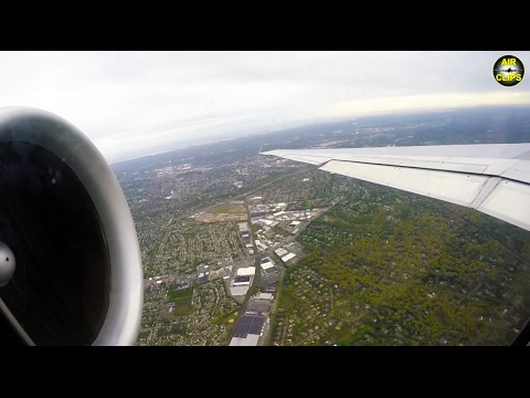 Delta MD-88 FULL First Class Orlando-JFK with GREAT JT8D engine views! [AirClips full flight series]