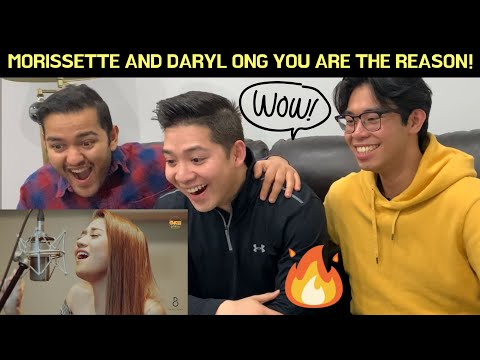 CANADIANS REACT TO MORISSETTE AMON AND DARYL ONG You Are The Reason - Calum Scott Cover
