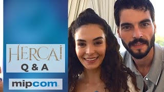 Hercai ❖ Cast Q&A Mipcom ❖ Akin Akinozu speaking English ❖  English ❖  2019