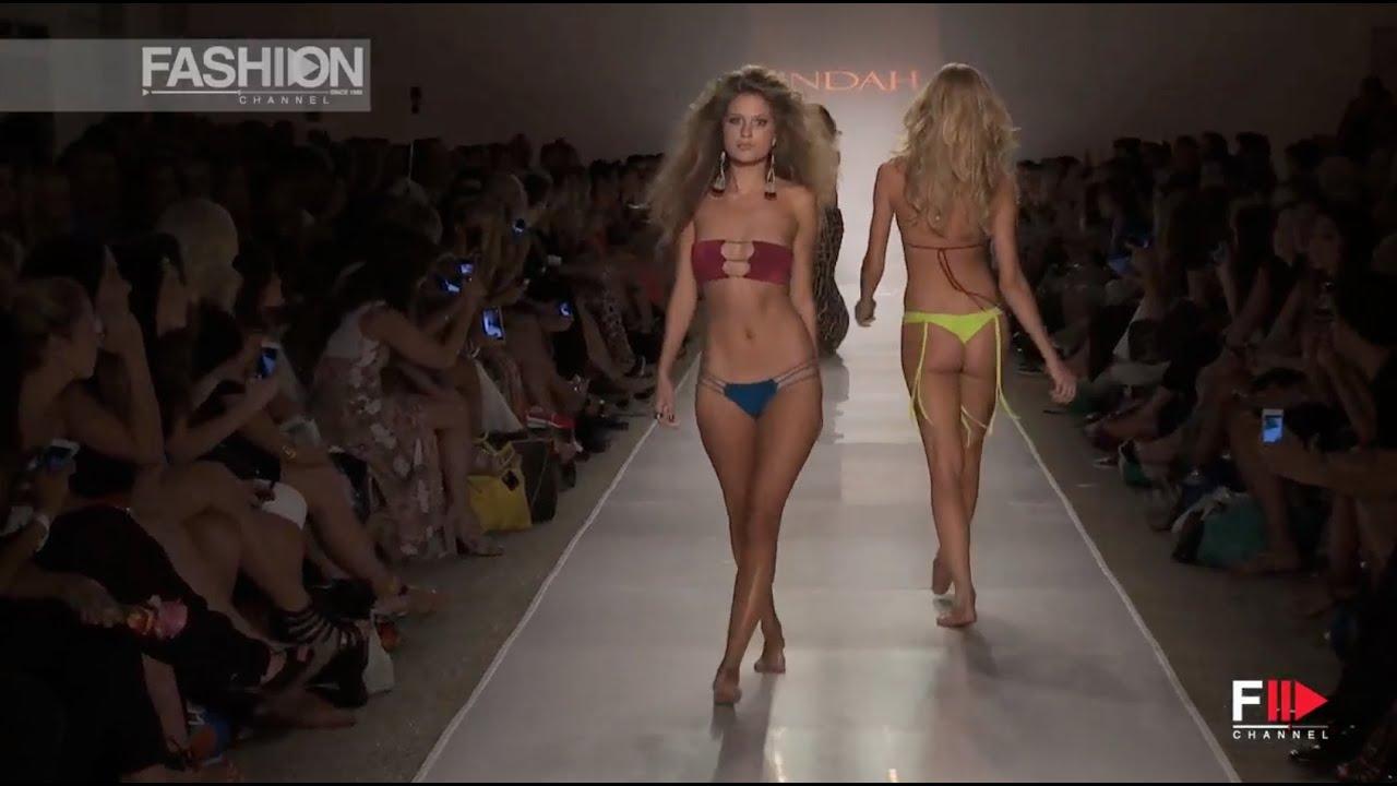 """""""INDAH""""  Miami Fashion Week Swimwear Spring Summer 2015 HD by Fashion Channel"""