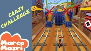CRAZY CHALLENGE : Play without running on the trains | Subway Surfers
