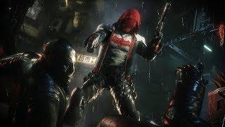 Batman Arkham Knight: Red Hood Combat & Stealth Kills