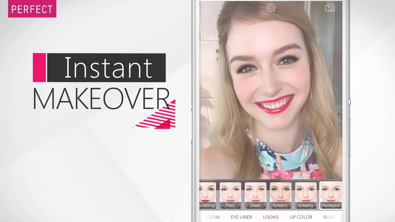 [YouCam Makeup] Google Play Store Video