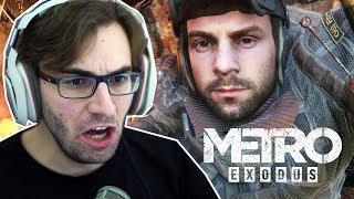 METRO EXODUS #5 - A Grande Fuga! (Gameplay em Português PT-BR)