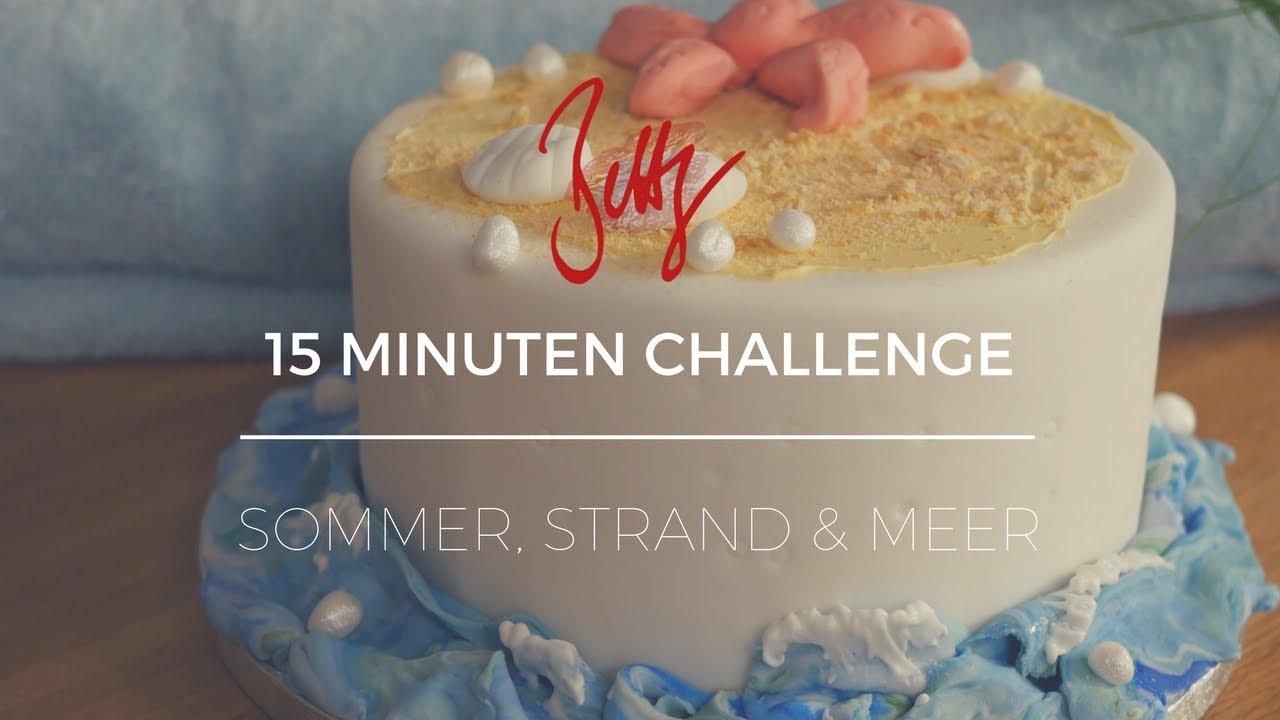 15 Minuten Challenge Sommer Strand Meer Betty S Sugar Dreams