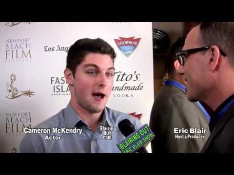 Actor Cameron McKendry talks w Eric Blair 2016 NPBFF