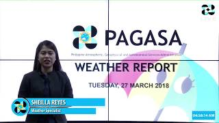 Public Weather Forecast Issued at 4:00 AM March 27, 2018