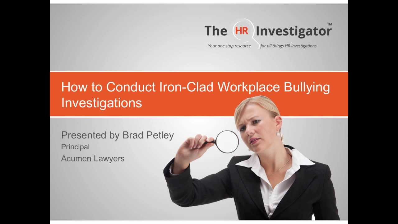 who should conduct workplace investigations what are the pros and cons of using internal versus exte ----- office of wetlands, oceans and watersheds fy92 national program meeting the washington plaza hotel massachusetts and vermont avenues, nw washington, dc 20005 may.