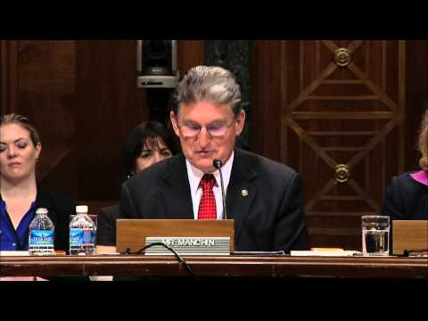 Manchin Introduces OMB Director Nominee, Sylvia Mathews Burwell