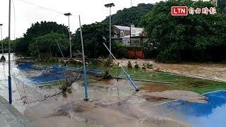 受暴雨影響 東吳大學雙溪校區下午起停課