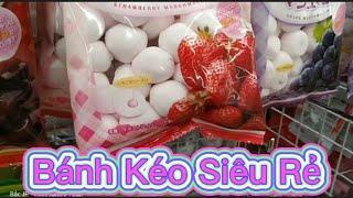 Cửa hàng bánh kẹo nước ngọt đồ ăn đồng giá 20k // BỜM JP