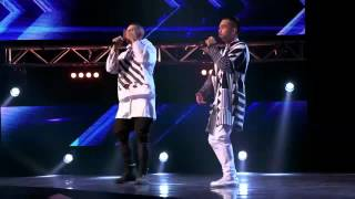 Lazy J & Big Guy - Not The Only One - The X Factor Australia 2015