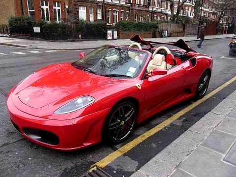 F430 Spider Roof Mechanism Youtube
