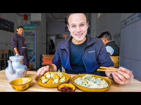 STREET FOOD Adventure to UNSEEN CHINA! TEA HORSE ROAD Tibetan Street Food!