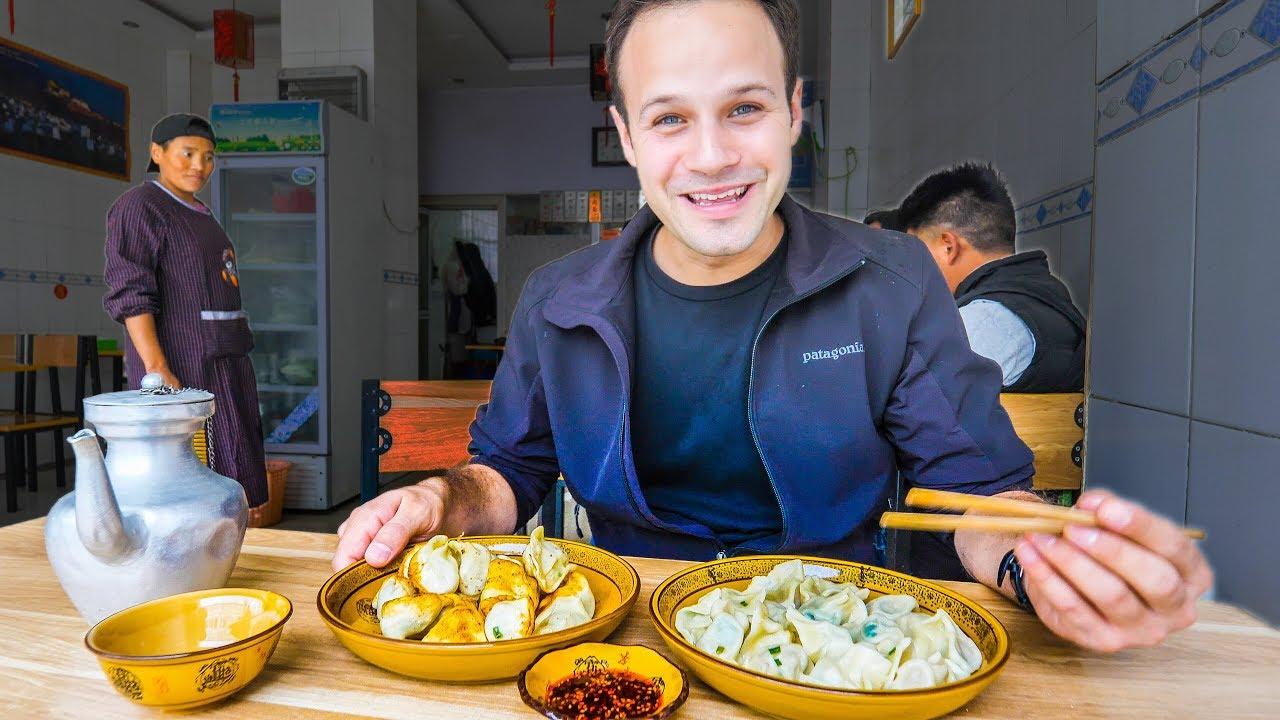 STREET FOOD Adventure to UNSEEN CHINA! TEA HORSE ROAD Tibetan Street Food!