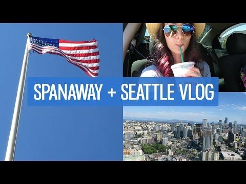 America vlog: Seattle, Spanaway & Tacoma | CharliMarieTV