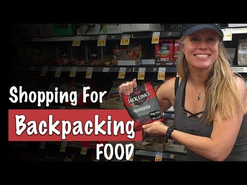 BACKPACKING- Buying Food for Backpacking - What To Buy - Season 2 -Ep#36