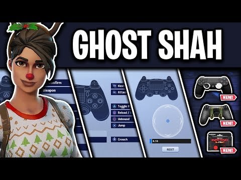 Ghost Shah's NEW Fortnite Settings, Controller Binds and Setup (S9)