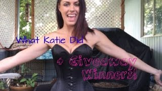 Extreme Laurie D+ from What Katie Did and Giveaway winners announced!