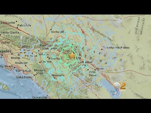 Magnitude-4.5 Earthquake Shakes Southern California