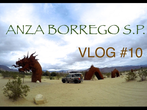 PALM CANYON CAMPGROUND @ ANZA BORREGO DESERT S.P. | VLOG #10