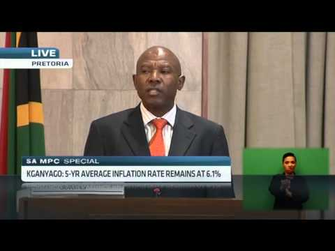 SARB Governor Kganyago: Why S.A's central bank hiked rates by 25bps