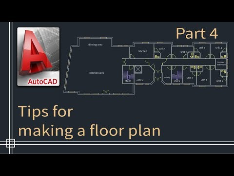 autocad-2019---tutorial-for-beginners-(tips-do-draw-a-floor-plan)---part-4