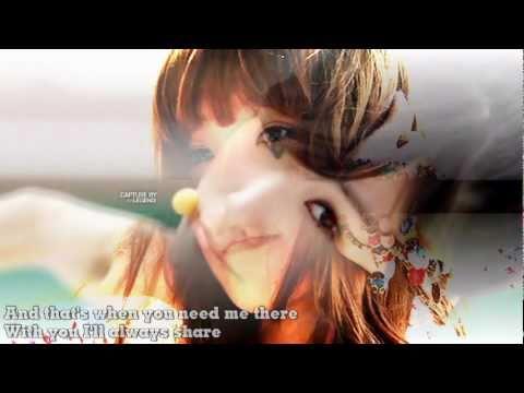 Cinderella under My Umbrella- live - SHINee ft.Tiffany(SNSD) with lyrics[fanmade]