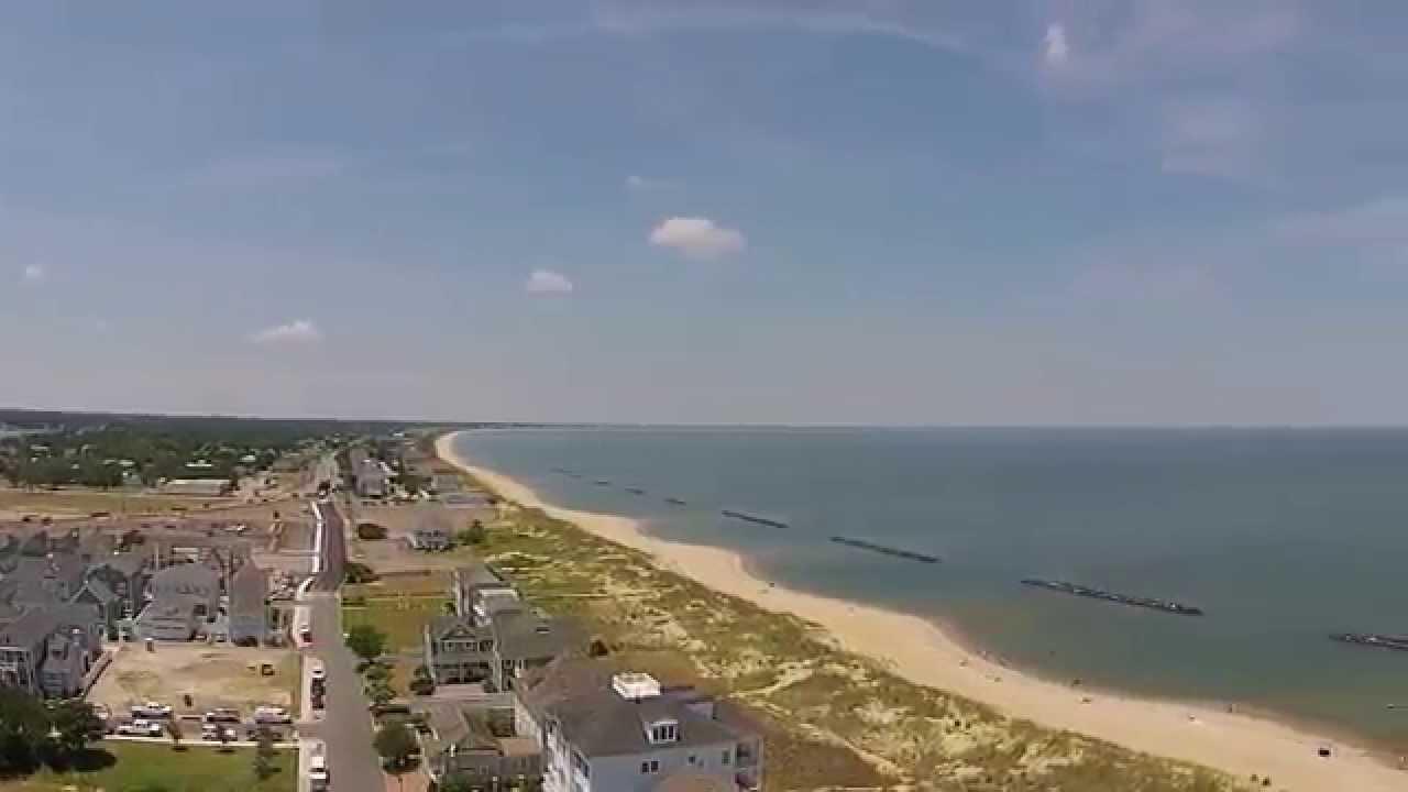 East Beach Norfolk Va: Drone Aerial Video Tour Of East Beach Norfolk, VA.