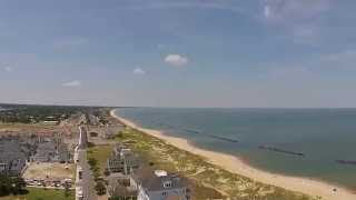 Drone Aerial Video tour of East Beach Norfolk, VA.