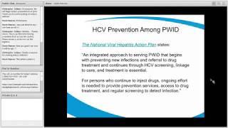 HCV Prevention And The Role Of Syringe Services Programs - Webinar