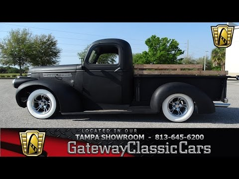 12 53517 Car Truck Tires For Sale Ebay >> 847 Tpa 1946 Chevrolet 3100 4 3l V6 4 Speed Automatic Youtube