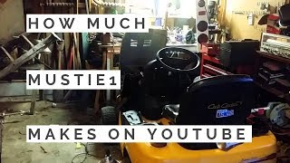 How much Mustie1 makes on Youtube
