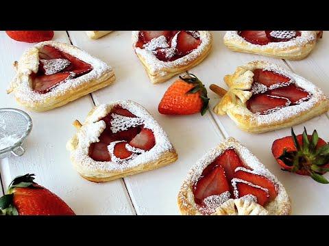 Чудесные СЛОЙКИ с Клубникой!///Wonderful PUFFS With Strawberries!