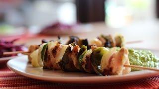 Marinirani Pileći Ražnjići - Marinated Chicken Kebabs (skewers)